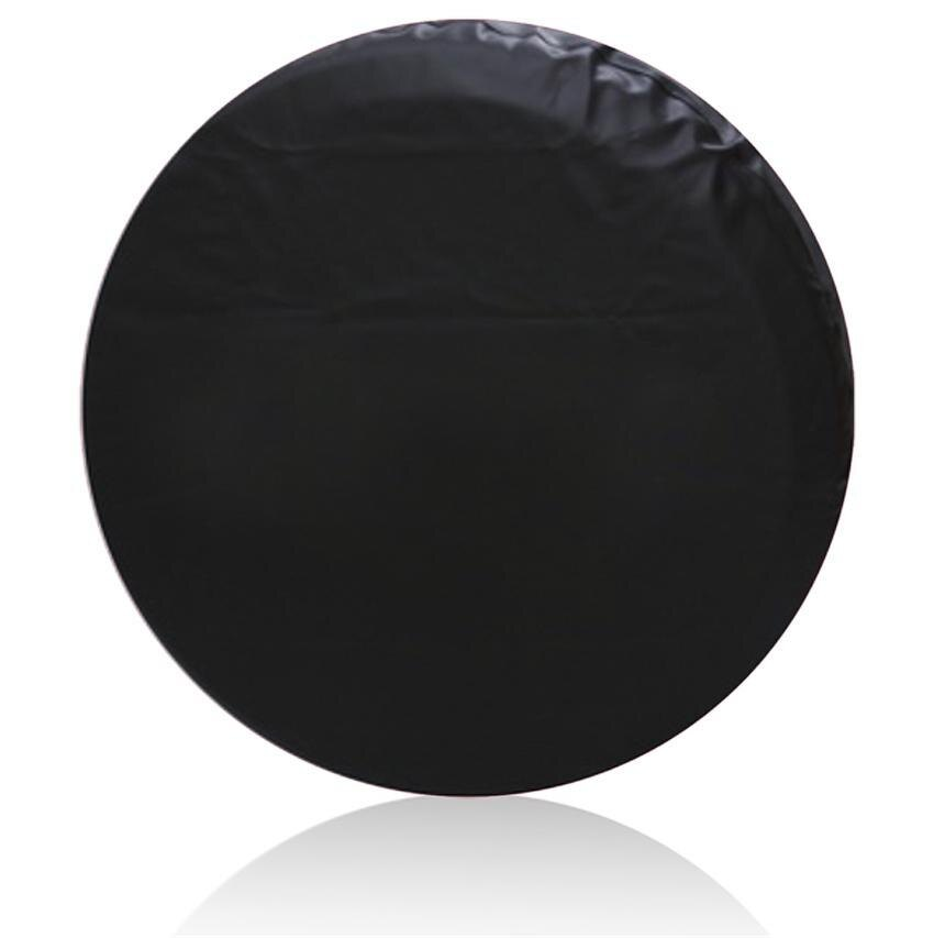 Leatherette 15inch Spare Tire Cover Wheel Covers for Car Black 0