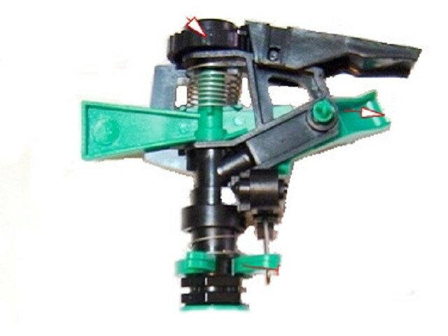 4分(塑膠)鳥型噴頭灑水器