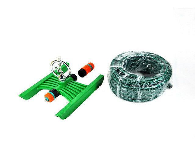 美國Raindrip雙孔電子式(簡易型)定時灑水器( 移動式大面積噴灑)組合套裝