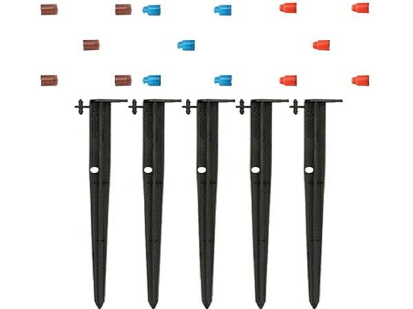 美國Orbit2分微霧噴頭與30公分腳架(15噴嘴5腳架)