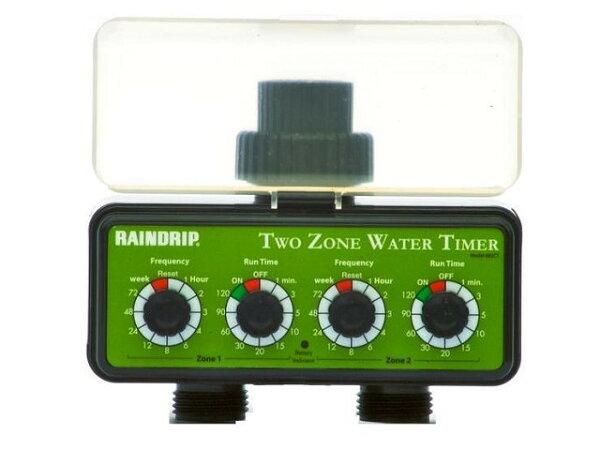 美國Raindrip雙孔(一台抵兩台)電子式(簡易型)自動灑水器