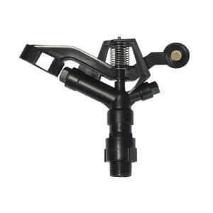 1吋黑色塑鋼製(遠,近兩段噴灑距離360度旋轉)噴灑頭外牙(無腳架)