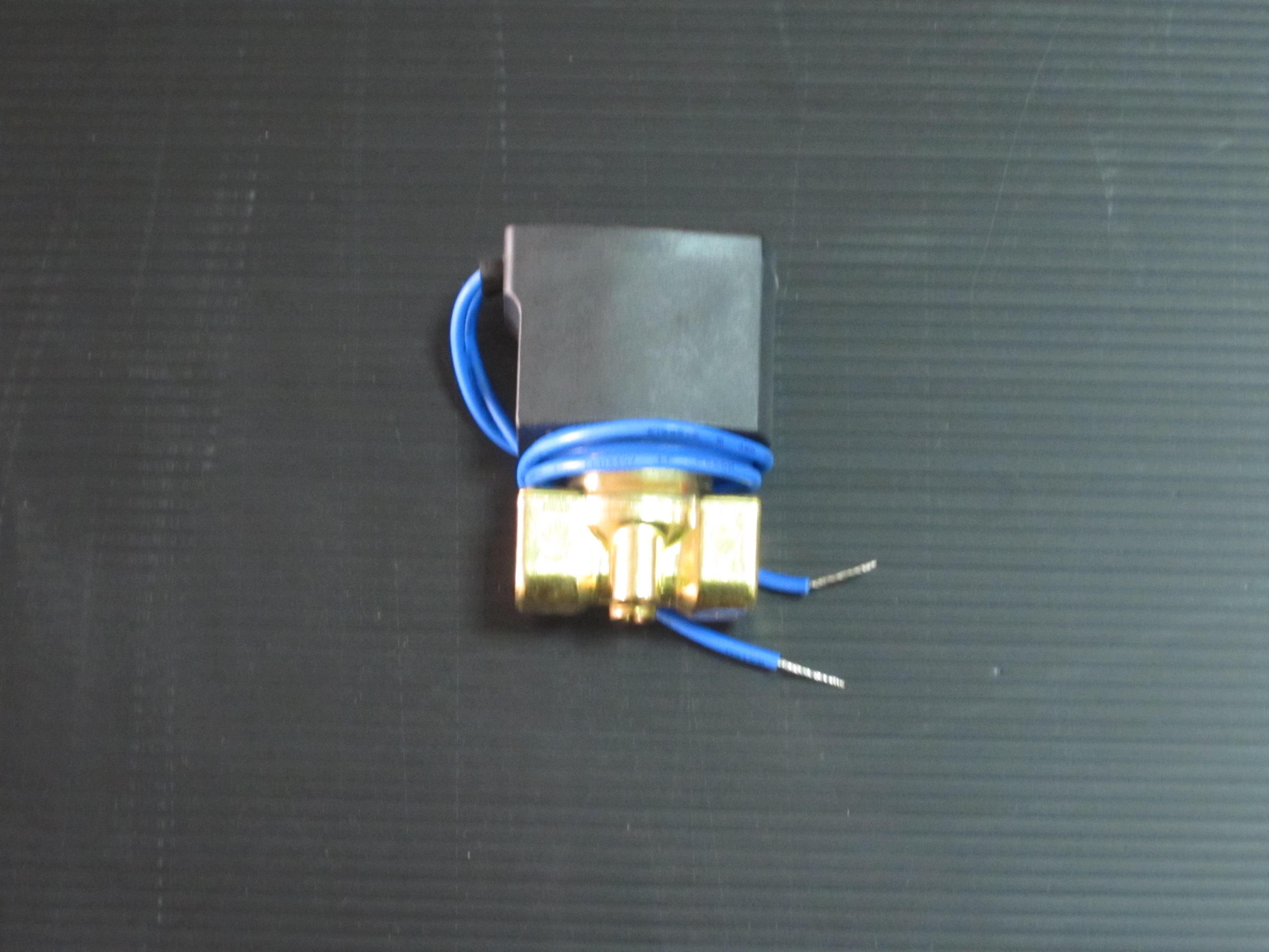 單顆兩分銅製電磁閥110V~220V(當噴頭與洩壓閥)