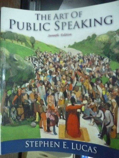 【書寶二手書T6/大學社科_QBL】The Art of Public Speaking_Lucas_7/e
