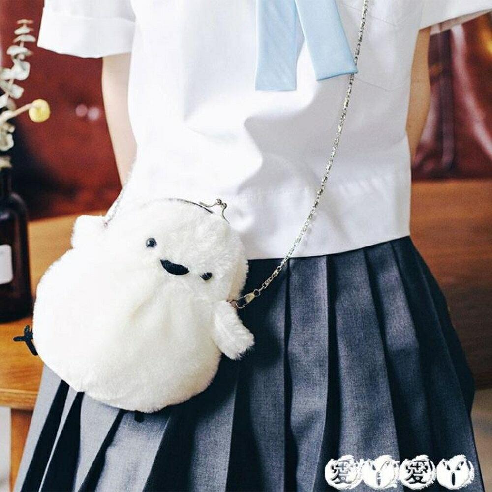 側背包 洛麗塔少女心軟妹lolita包包搞怪小雞斜跨卡通兔子背包可愛萌日繫 愛丫愛丫 聖誕節禮物