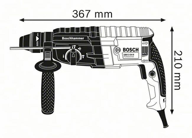 德國BOSCH 博世 GBH 2-24DRE強勁790W 三用/四溝 免出力 鎚鑽 槌鑽 電鑽 原廠保固一年
