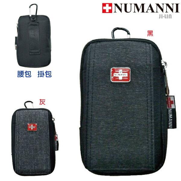 79-9743【NUMANNI 奴曼尼】率性時髦多層造型拉頭尼龍幾合迷彩側背包 (二色)