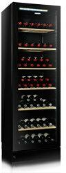 VINTEC V190SG2EBK 雙溫紅酒櫃 黑色極致系列【贈行動冷熱箱】