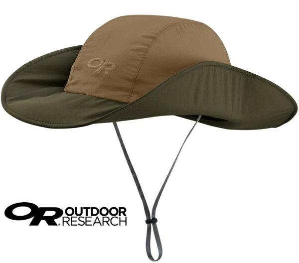 OutdoorResearch西雅圖防曬圓盤帽登山帽遮陽帽UPF50+2643871206咖啡