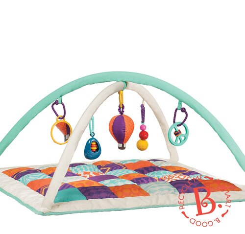 【奇買親子購物網】美國B.Toys 熱氣球健力墊