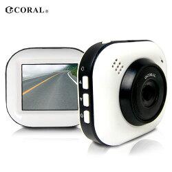 [富廉網] 【CORAL】輕巧型 G-Sencer 行車紀錄器 DVR-628P (送8G記憶卡)