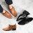 【B2-17206L】橢圓扣個性俐落踝靴_Shoes Party 0
