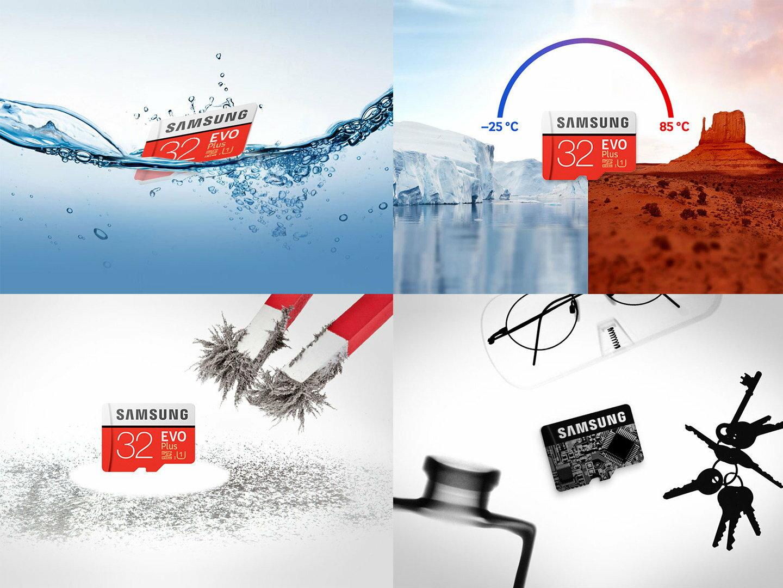 Samsung EVO+ 32GB microSDHC Class 10 32G EVO Plus microSD micro SD SDHC 95MB/s UHS-I U1 C10 MB-MC32GA with Original SD Adapter 4