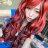 紅黑混色大波浪挑染長捲髮【MA205】高仿真角色扮演動漫假髮☆雙兒網☆雙兒網☆ 1
