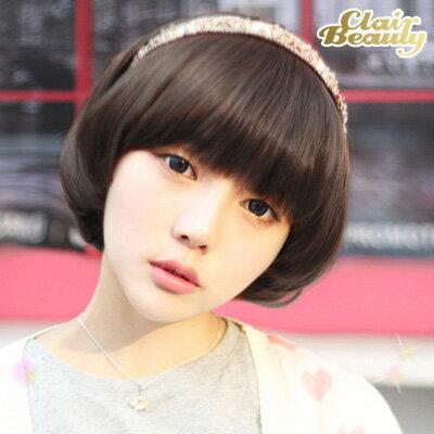 可愛經典呆瓜頭香菇頭BOBO造型短髮【MB015】高仿真超自然整頂假髮☆雙兒網☆ 0