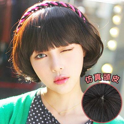 可愛經典呆瓜頭香菇頭BOBO造型短髮【MB015】高仿真超自然整頂假髮☆雙兒網☆ 1