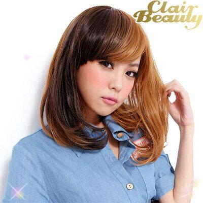 玩髮變色 雙色漸層日系短假髮【MX004】高仿真撞色整頂假髮☆雙兒網☆ 0