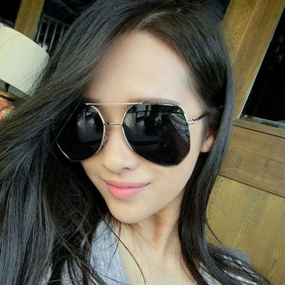 墨鏡 時尚明星同款多邊大框復古太陽眼鏡【O2915】☆雙兒網☆ 4