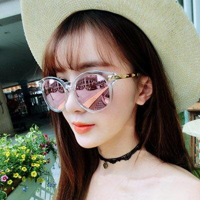 墨鏡 時尚透明金邊太陽眼鏡【O2918】☆雙兒網☆ 0