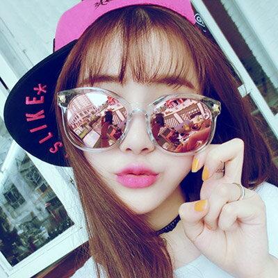 墨鏡 時尚透明金邊太陽眼鏡【O2918】☆雙兒網☆ 1