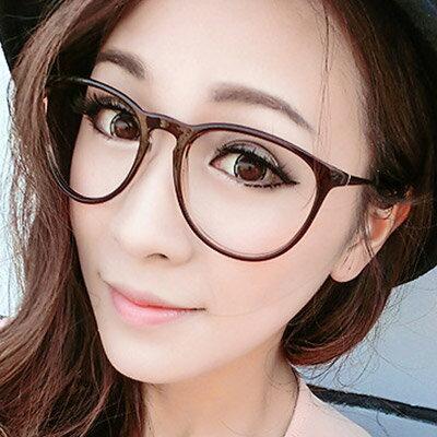 眼鏡 韓國復古時尚學院風眼鏡【O2923】☆雙兒網☆ 1
