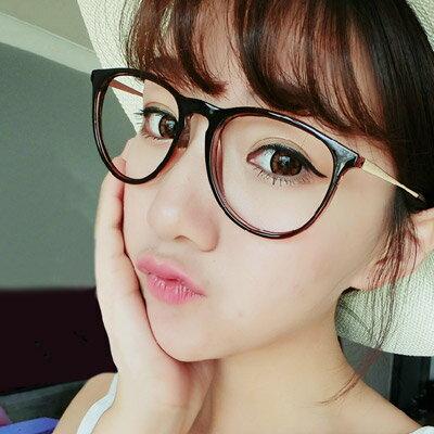 眼鏡 韓國復古時尚學院風眼鏡【O2923】☆雙兒網☆ 0
