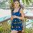 泳裝 韓版熱戀水果圖案荷葉連身情侶泳衣【O2936】(女裝)☆雙兒網☆ 4