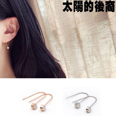 耳環 韓劇同款簡約質感點綴耳環【O3065】☆雙兒網☆ 0