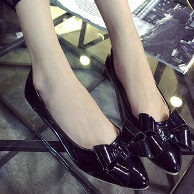 平底鞋  甜美蝴蝶結尖頭平底鞋【S1248】☆雙兒網☆ 3