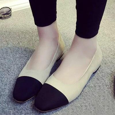 高跟鞋 名模最愛小香風撞色包鞋【S1533】☆雙兒網☆ 2