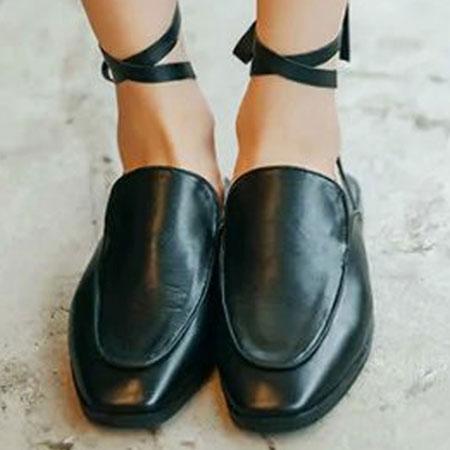 拖鞋 歐美時尚嬉皮隨興綁帶拖鞋【S1591】☆雙兒網☆ 3