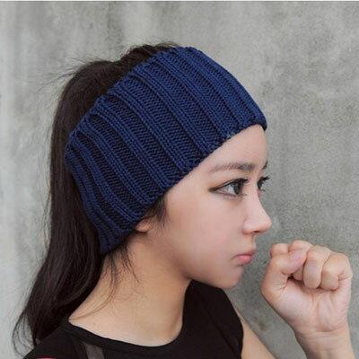 ☆雙兒網☆韓版針織毛線頭帶 髮帶 瑜珈帶【O2485】 0