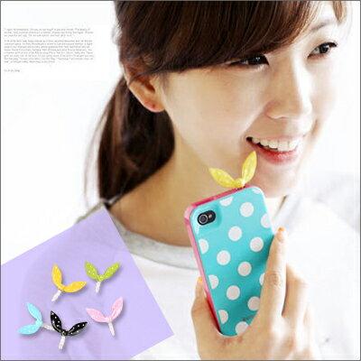 ☆雙兒網☆綺麗時分【o962】韓國熱賣兔子耳朵防塵塞耳機塞適用iphone46ShtcSamsung