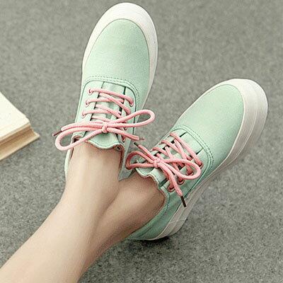 韓國流行素色厚底鞋【S528】☆雙兒網☆ 0