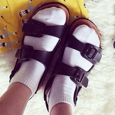 涼鞋 歐美流行經典時尚軟木風涼鞋(35~40)【S914】☆雙兒網☆ 0