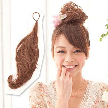 ☆雙兒網☆HOT!材質再升級新耐熱假髮【AMT010】多用途鐵絲髮條可當馬尾包包頭 - 限時優惠好康折扣