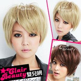 ☆雙兒網☆優質假髮(現+預)【101E】土屋安那搖滾ROCK視覺系短髮
