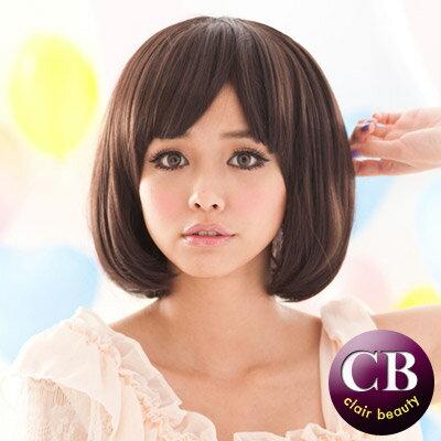 ☆雙兒網☆【201AE】口愛瀏海BOB0短假髮 - 限時優惠好康折扣
