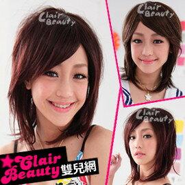 ☆雙兒網☆優質假髮(現+預)【LW336D】整頂式-清純派淑女短髮