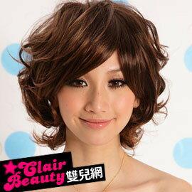 ☆雙兒網☆優質假髮(現+預)【A097】日系街頭型人蓬鬆短卷髮