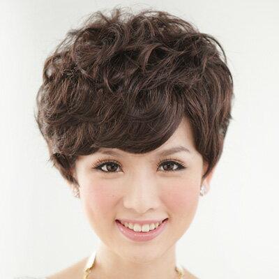 ☆雙兒網☆優質假髮(現+預)【1029M】貴氣款上班族自然微捲短髮
