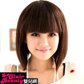 自然原野鄰家女孩可愛短髮【MR14】純手工製全頂式100%真髮☆雙兒網☆ - 限時優惠好康折扣
