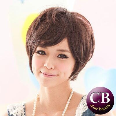 ☆雙兒網☆【MB029】超短髮帥氣女孩-咖啡色 - 限時優惠好康折扣