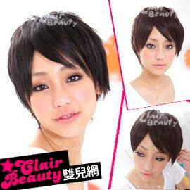 ☆雙兒網☆優質假髮(現+預)【MB091】 搖滾龐克中性短髮