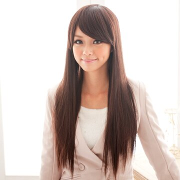 ~雙兒網~HOT! 再升級新耐熱假髮~MC022~耐熱纖維~延續 純真媚惑長直髮