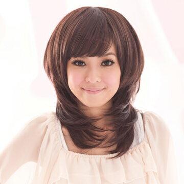 ☆雙兒網☆HOT!材質再升級新耐熱假髮【MC023】VIVI定番。卡哇伊超修臉羽毛剪假髮