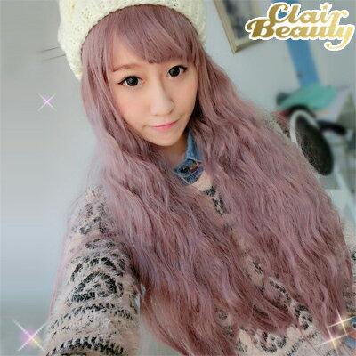 紫芋色蓬鬆有型娃娃頭玉米鬚QQ長髮【MA010】☆雙兒網☆