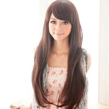 ~雙兒網~HOT! 再升級新耐熱假髮~MA042~耐熱纖維~北川景子日系層次感長髮