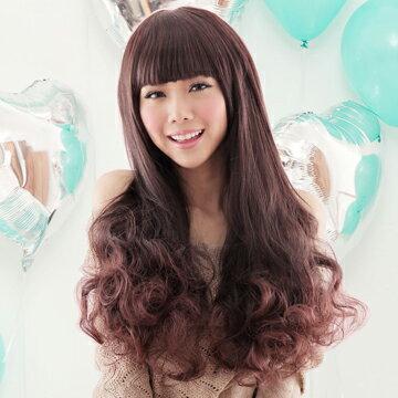 ☆雙兒網☆HOT!材質再升級新耐熱假髮【MA072】大眼娃娃~附修臉設計長捲髮