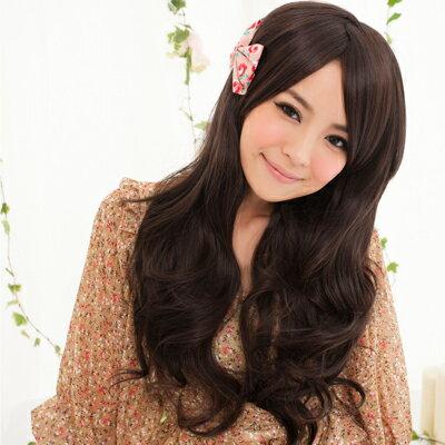 ☆雙兒網☆HOT!材質再升級新耐熱假髮【MA099】佐佐木希氣質波浪長捲髮